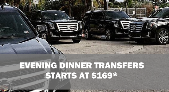 Napa Shuttle & Limo Dinner Transfer