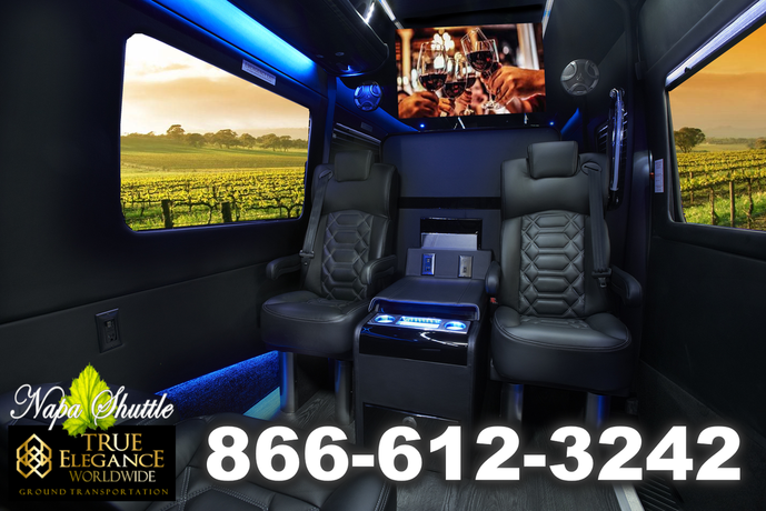 Mercedes Sprinter Executive Shuttle in Napa Valley